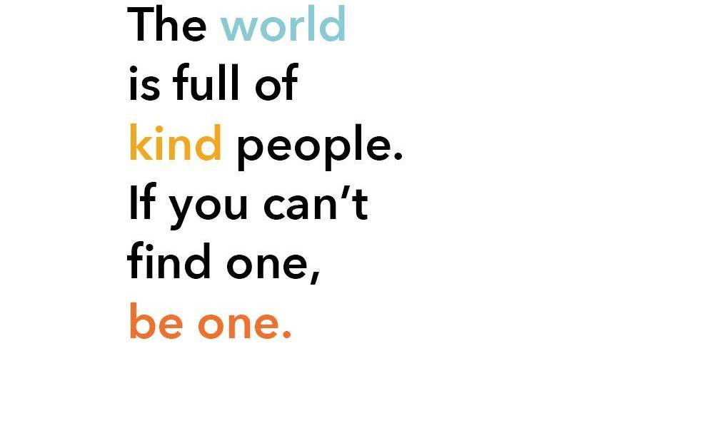 World Kindness Day 13 November 2020