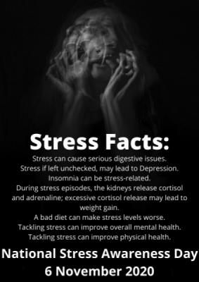 National Stress Awareness Day 6 November 2020